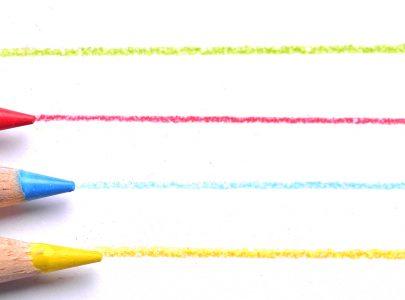 Usando as cores na organização da lição de casa
