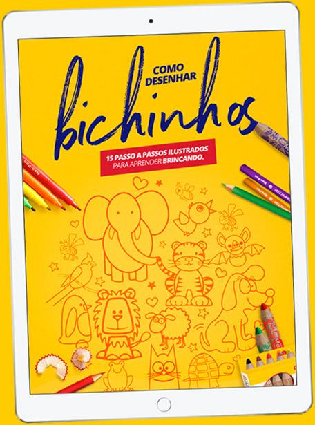 E-book Como Desenhar Bichinhos
