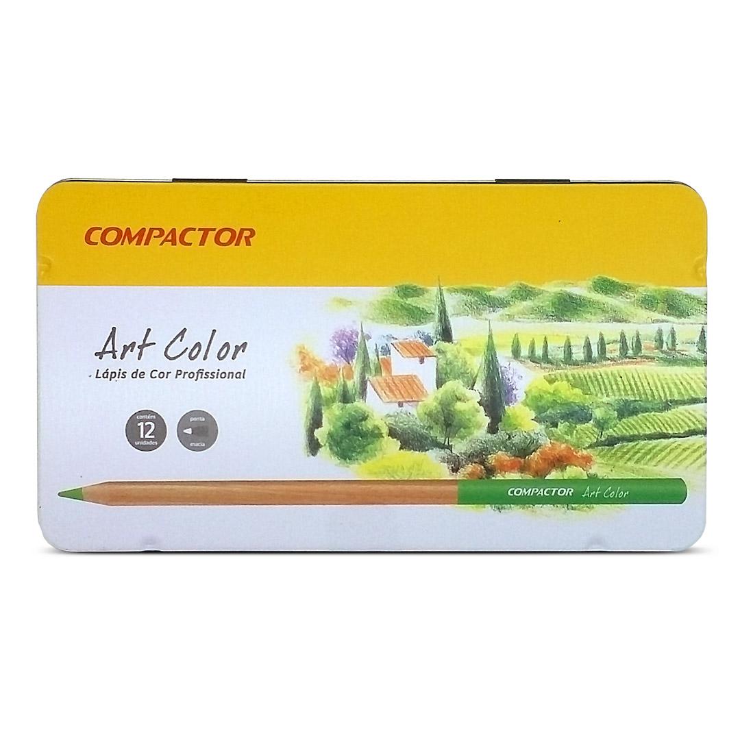 8240d3a605 Lápis de Cor Art-Color 12 cores - Canetas Compactor