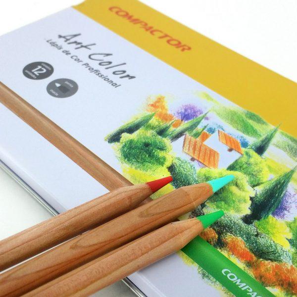 Lápis de Cor Art-Color Compactor