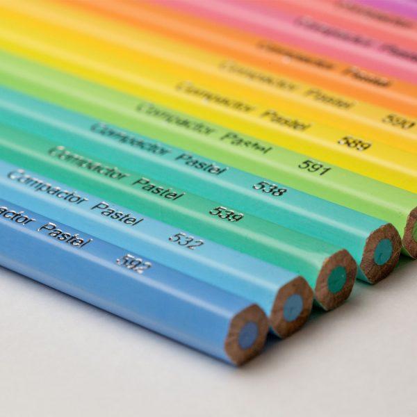 Lápis de Cor Art-Color Pastel 12 cores
