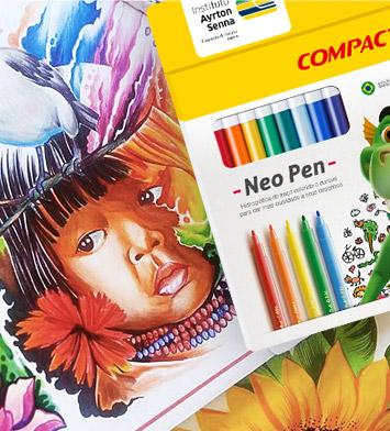 Produtos Compactor para Desenhar e Colorir
