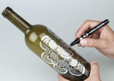 Dicas Compactor para artesanato em garrafa de vidro