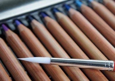 5 técnicas de desenho com lápis de cor aquarelável