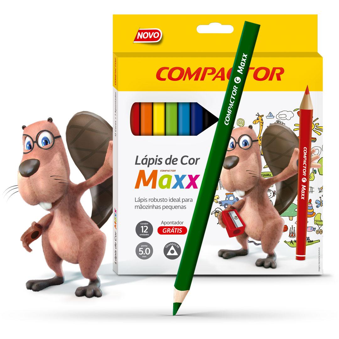 Lápis de Cor Maxx