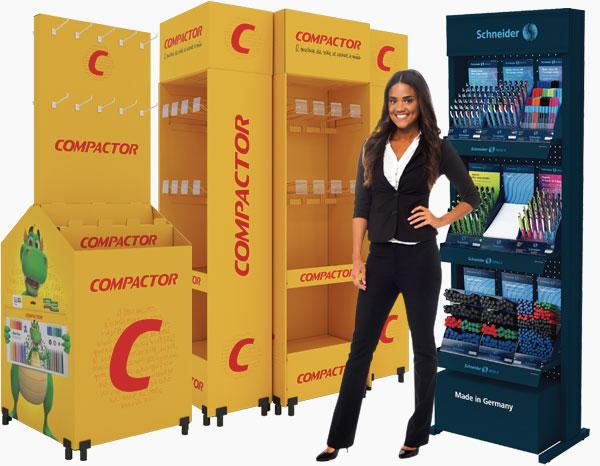 Displays e Expositores Compactor