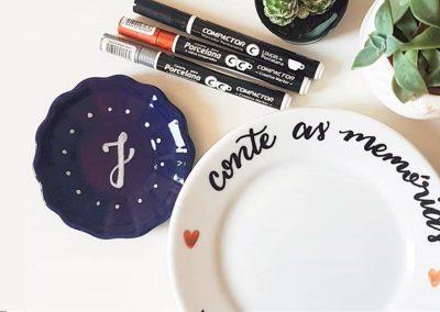 Como pintar porcelana para presentear e vender?